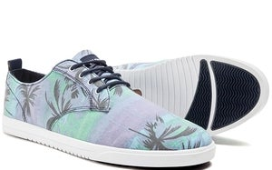 Image of CLAE Ellington Canvas blue hawaii