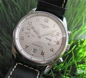 Image of VINTAGE LONGINES AVIGATION CHRONO STEEL AUTO - SOLD
