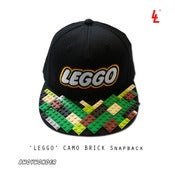 Image of 'LEGGO' BRICK SNAPBACKS