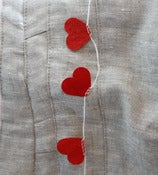 Image of Paper Heart Garland