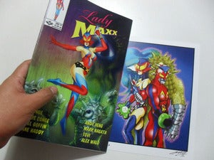 Image of Print + Lady Maxx Issue #1 Set