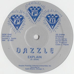 Image of PPU-045 DAZZLE / EXPLAIN / C ON THE FUNK / IN THE DISCO 12""