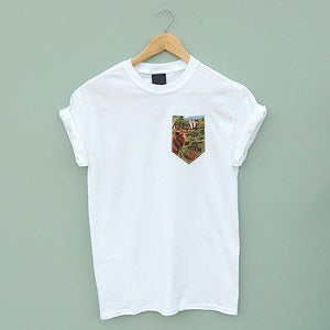 Image of Stag Pocket Tee by Patch Apparel 