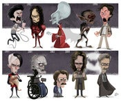 Image of Evolution of Gary Oldman Print
