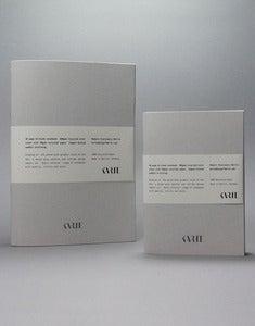 Image of 'Quiet Achiever' A5 & A6 Notebook Range