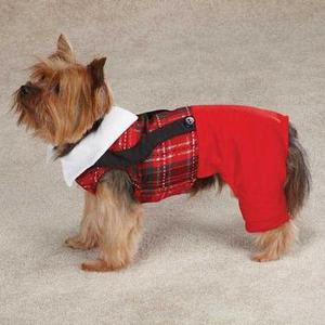 Image of Yuletide Tartan Pet Jumper