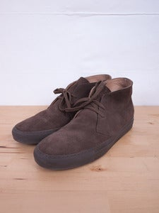 Image of Common Projects - Chukka Suede Sneakers Brown