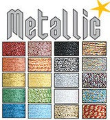 Image of Metallic Floss packs by Sublime Stitching