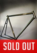 Image of PIAS Track Frameset - Black & Gold