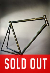 Image of PIAS Track Frameset - Black &amp; Gold