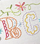 Image of Epic Alphabet - Embroidery Patterns