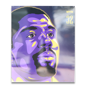 Image of King of the NBA: Magic Johnson by Dustin Watson