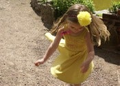 Image of Dijon yellow organic sun dress