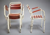 Image of fauteuils de bistrot / bistro chairs