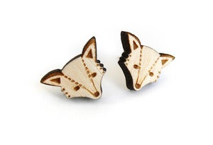 Image of Woodland Fox Earrings