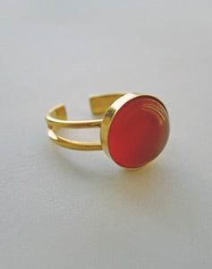 Image of Aurora - Carnelian Ring