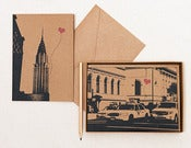 Image of NYC Lover's assorted set of 8 blank note cards