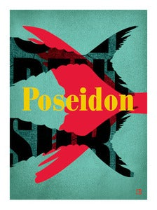 Image of Poseidon Art print unframed