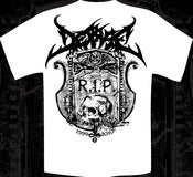 Image of DESPISE - R.I.P. tshirt white