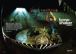 Image of Boneshaker Magazine Issue 11 (PDF Download version)