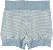 Image of FUB baby shorts, sea green - ecru
