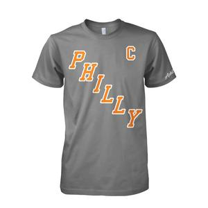 Image of Philly Captain Tee (Heather Grey)