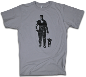 "Image of ""The Road Warrior"" Mad Max tee by Backpage Press"