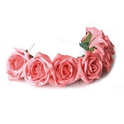 Image of Whole Lotta Rosie Headband - Coral