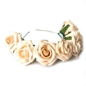 Image of Whole Lotta Rosie Headband - Beige