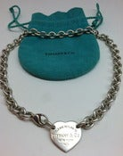 Image of Tiffany & Co. Return to Tiffany's heart tag choker