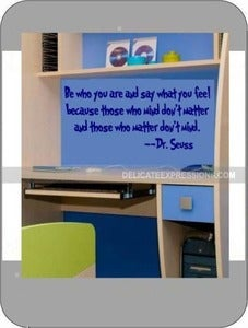 Image of Be Who You Are...Dr. Seuss