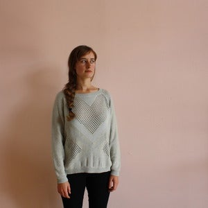Image of Micaela Greg textured heart pullover