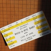 Image of Rock-A-Bye Baby Ticket Card