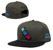 Image of NEW! Pink Dolphin Triple Cross Snapback Hat Collection