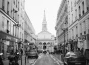 Image of Streets of Paris: Church
