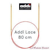 Image of Addi Lace 80 cm - Agujas circulares fijas