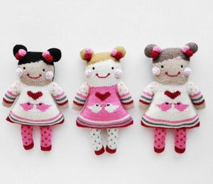 Image of *NEW* Handknit Baby Dolls