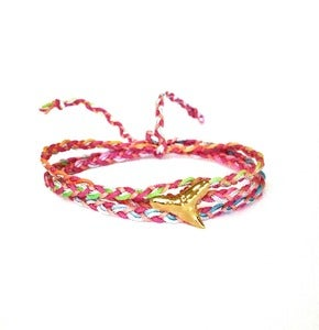 Image of Shark tooth wrap bracelet