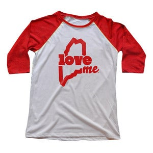 Image of LoveME - 3/4 Sleeve Raglan T-Shirt