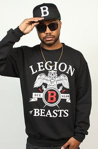 Image of Legion of Beasts Crew Black