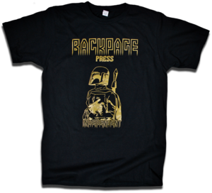 "Image of Boba Fett ""Independent Contractor"" tee by Backpage Press"