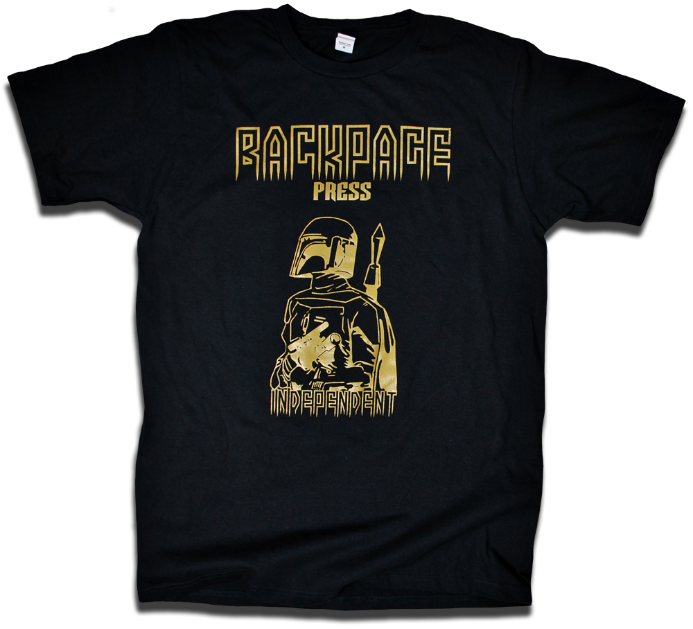 Image of Boba Fett &quot;Independent Contractor&quot; tee by Backpage Press