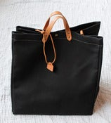 Image of Black Cotton Weekender