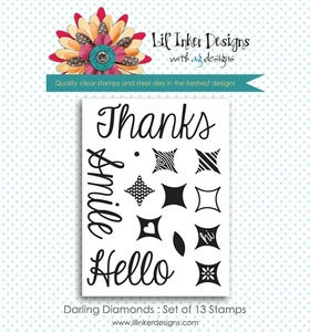 Image of Darling Diamonds Stamp Set