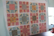 Image of Victorian Modern Video Quilt Along PDF pattern