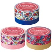Image of Floral Printed Washi Tape Sets