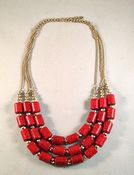 Image of Red Beads Necklace