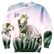 Image of REXX Full Print Crew Neck Sweater *PreOrder