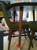 Image of Pebble Chair Sage Green. Ex Display