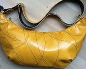 Image of Foxtrot Hobo Bag - Yellow